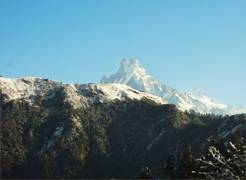 Macchapuchre-Mountain